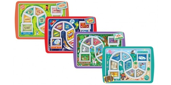67% Off Fred Dinner Winner Children's Plate Trays Now £9.98 @ Groupon