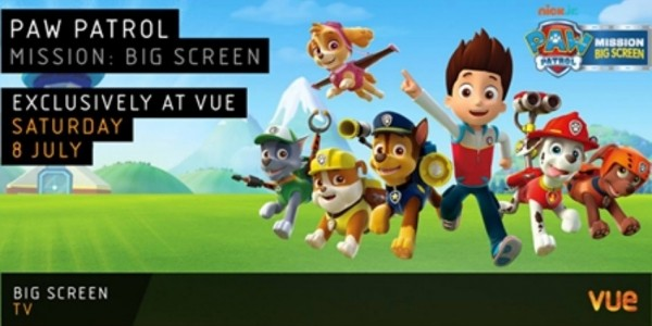 Paw Patrol - Mission: Big Screen Now Booking @ Vue Cinemas!