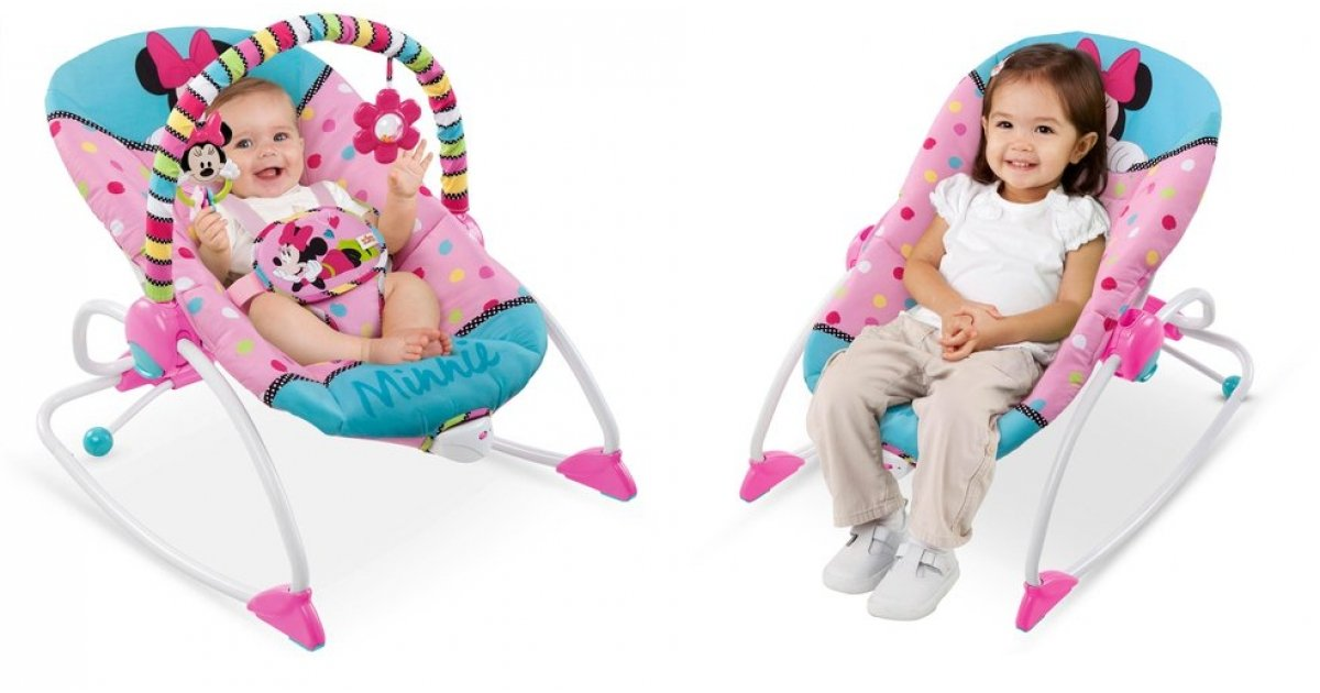 Disney Minnie Mouse Baby Rocker To Toddler Seat 163 39 99