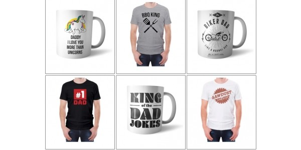 Father's Day Mix & Match T-shirt & Mug £12 Delivered @ IWOOT