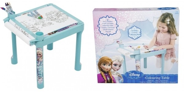Disney Frozen Colouring Table £6.99 With Free Delivery @ Amazon