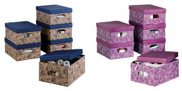 Set Of 6 Storage Boxes £4.99 @ Lidl