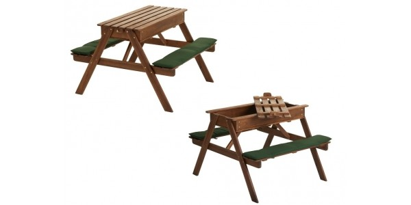 Play Sand Picnic Bench £40 With Free Delivery @ Wilko