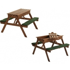 play sand picnic bench 35 with free delivery wilko. Black Bedroom Furniture Sets. Home Design Ideas