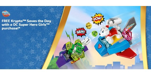 FREE Gift With All Lego DC Super Hero Girls Purchases @ Lego Store