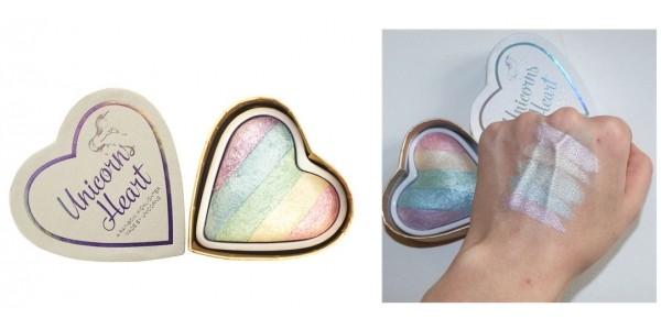 I Heart Makeup Unicorns Heart Highlighter £5 @ TAM Beauty