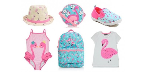 Girls Flamingo Clothing & Accessories From £4 @ Asda George