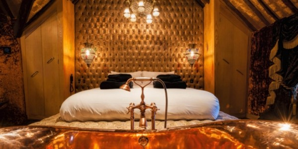 Crazy Bear Hotel Break for Two with Champagne, Three Course Dinner & Breakfast From £279 @ Groupon