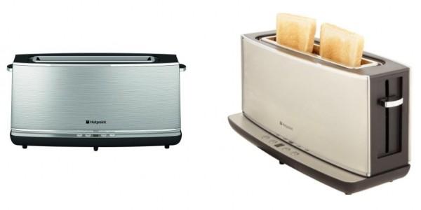 Hotpoint TT12EAXOUK 1000W Long Slot Digital Toaster £19.99 Delivered @ Hughes