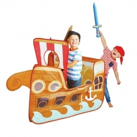 Pirate Ship Pop Up Play Tent £14.99