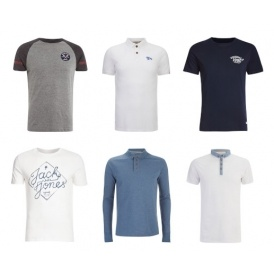 2 For £15 Tops and Polo Shirts @ Zavvi