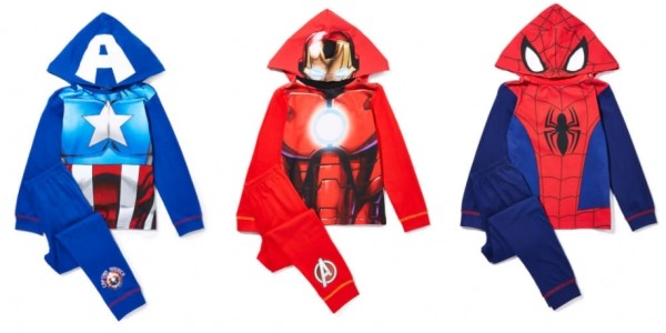 Superhero Novelty Pyjamas From £5.99 @ Zavvi