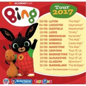 FREE Bing 2017 Tour - Meet Bing & Flop!
