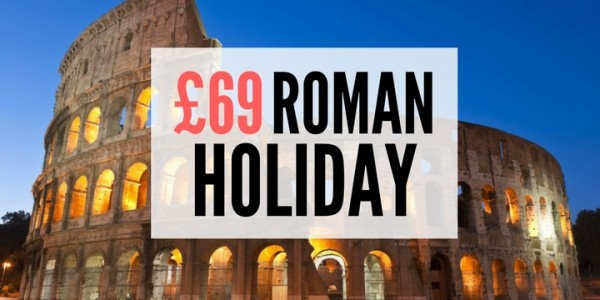 2 Nights In Rome With Flights From £69 @ Go Groopie