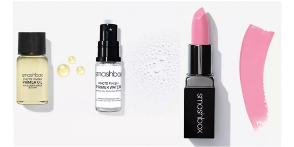 FREE Full Size Lipstick (Worth £17.50), Two Samples & Delivery With £5 Spend @ Smashbox (Expired)