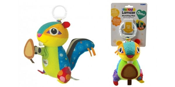 RECALL: Tomy Lamaze Munching Max Chipmunk Toy