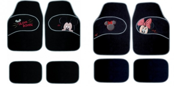 Mickey & Minnie Car Mats £21.80 / £21.18 Delivered @ Amazon