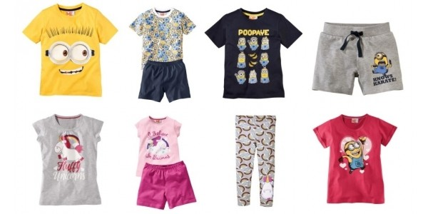Minions Clothing From £2.49 @ Lidl From Sunday 25th June