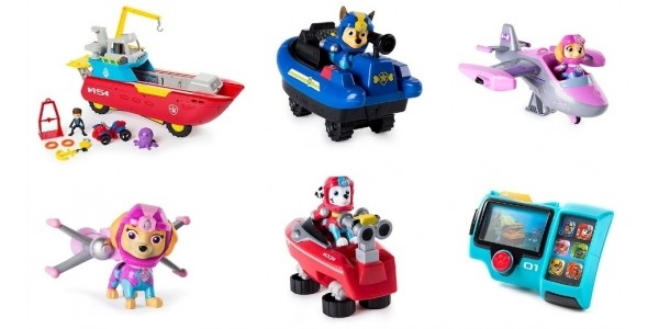 NEW Paw Patrol Sea Patrol Range @ The Entertainer