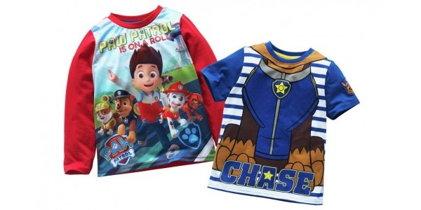Paw Patrol 2 Pack of T-Shirts £5.99 @ Argos