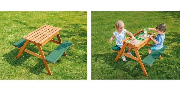 Gardenline Children's Sand & Water Wooden Play Bench £39.99 Delivered @ Aldi