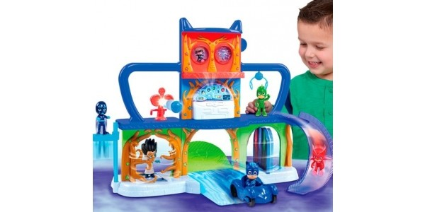 NEW PJ Masks Headquarters Playset Available To Pre-Order @ Smyths Toys