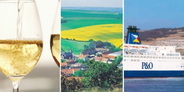Day Trip To Calais (Up To 9 Passengers) With FREE Bottle Of Wine From £20 @ P&O Ferries