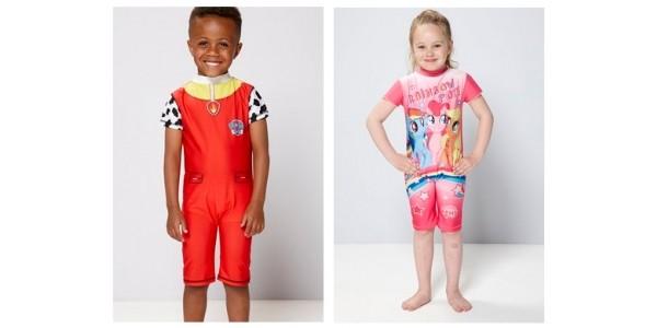 Kids Character UV Swim Suits From £5.99 @ Studio