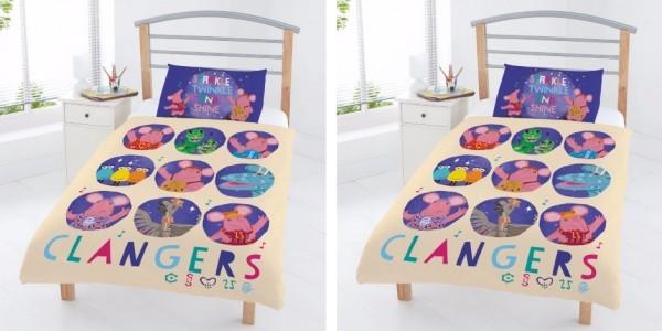 Clangers Toddler Duvet Set £7 (was £14) @ Asda George