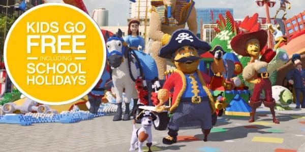 LEGOLAND Summer Sale: Kids Go FREE (Including School Holidays)