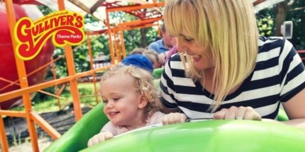 50% Off Children's Theme Park Tickets Using Code @ Gulliver's