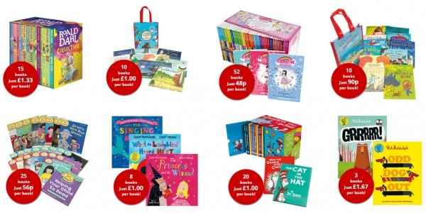 Flash Sale: Up To 88% Off Book Collections @ The Book People (Expired)
