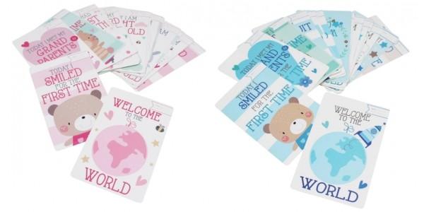 Baby Milestone Cards £2.50 @ Hobbycraft