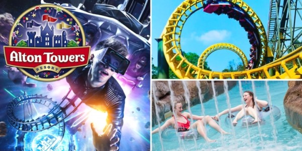 Midweek Alton Towers Stay With Theme Park Entry From £109 Per Room