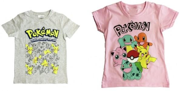 Pokemon T-Shirts £3.99 @ Argos