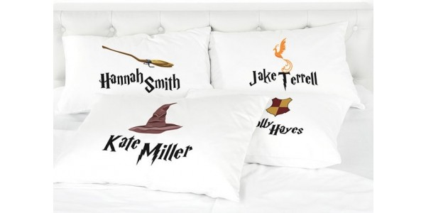 Personalised Kids Harry Potter Inspired Pillowcases £3.99 @ Wowcher