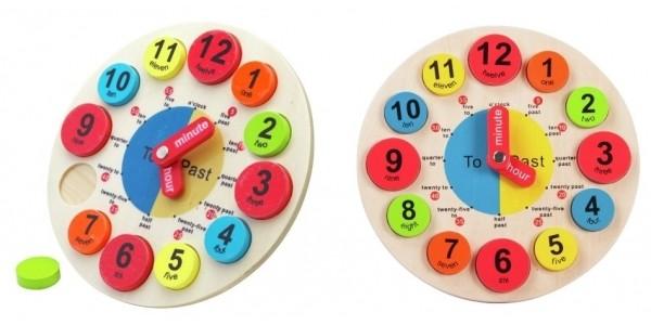 Chad Valley PlaySmart Wooden Clock £3.99 @ Argos