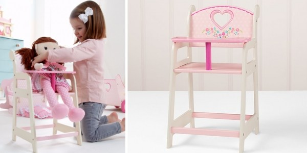 George Home Wooden Pink Highchair £12 @ Asda George (Expired)