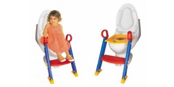 All In One Toddler Potty Training Seat & Steps £11.99 Delivered @ Amazon Seller Logic-Sale