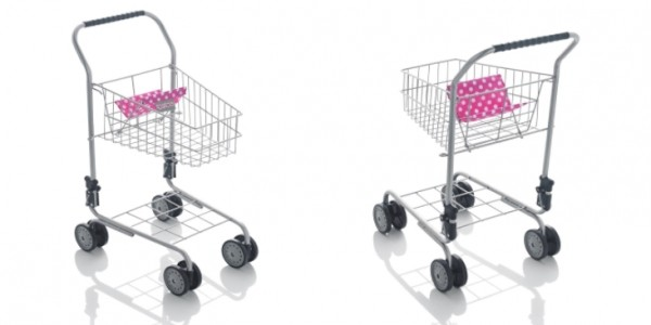 Molly Dolly Deluxe Metal Shopping Trolley £11.99 (+ £2.84 Delivery ) @ Amazon Store: Net_Price_Direct