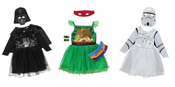 Selected Kids Fancy Dress Now £4 @ Asda George