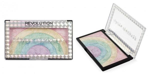 Makeup Revolution Rainbow Highlighter £4 Delivered @ Superdrug