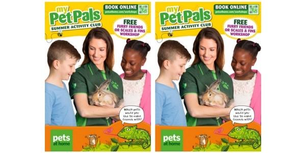 FREE Kids Pet Summer Workshops @ Pets at Home