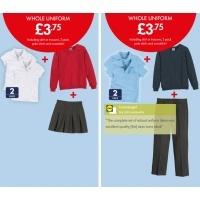 Get A Full School Uniform For £3.75 @ Lidl!