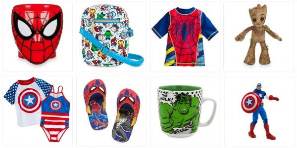 FREE Delivery On Any Marvel Purchase Including Sale @ The Disney Store (Expired)