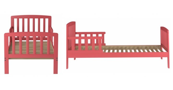 Pink Wooden Rafferty Toddler Bed GBP49 Asda George
