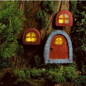 Solar Powered Fairy Door & Windows