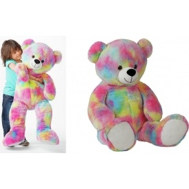 Giant Chad Valley Multicoloured Bear £12.99