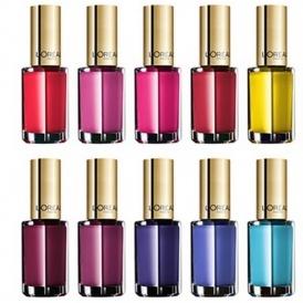 5 x L'Oreal Color Riche Nail Polishes £3.98
