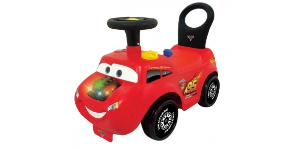 Disney Cars Lightning McQueen Ride On Lights n' Sounds Activity Racer £20 (was £40) @ Tesco Direct